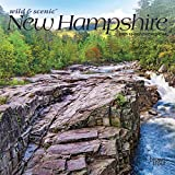 New Hampshire Wild & Scenic 2021 7 x 7 Inch Monthly Mini Wall Calendar, USA United States of America Northeast State Nature