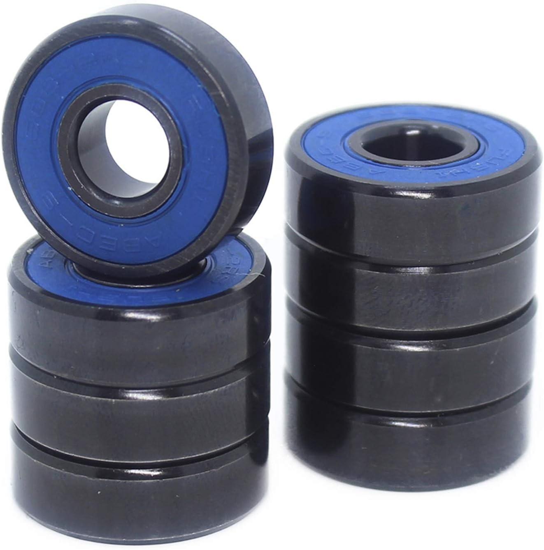 SGGFA Skateboard 608-Black Cheap mail order shopping Bearings 8x22x7 Sale special price 10 60 mm ABEC-9 PCS