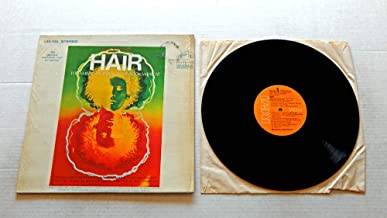 Original Broadway Cast HAIR THE AMERICAN TRIBAL LOVE-ROCK MUSICAL - RCA Records 1968 - USED Vinyl LP Record - 1968 Pressing LSO-1150 IN SHRINK WRAP - With the 1968 Original Broadway cast.