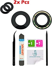 OmniRepairs Rear Facing Glass Camera Lens Replacement (2 Pieces) for iPhone 7 and iPhone 8 Model ( A1660, A1778, A1779, A1863, A1905, A1906) with Adhesive and Repair Toolkit