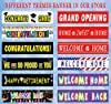 Large Grand Opening Banner, Retail Store Shop Busi... #4