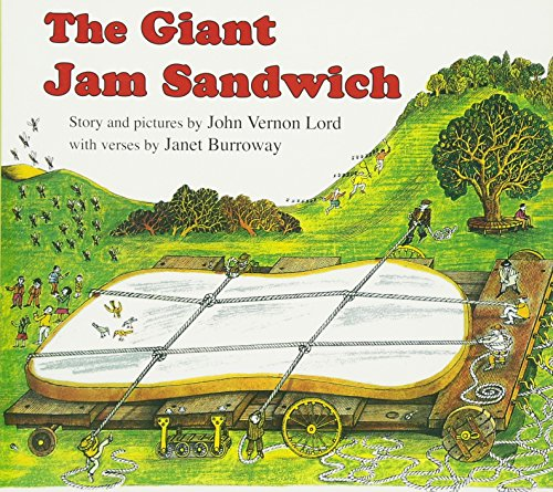 The Giant Jam Sandwich (Read Along Book)