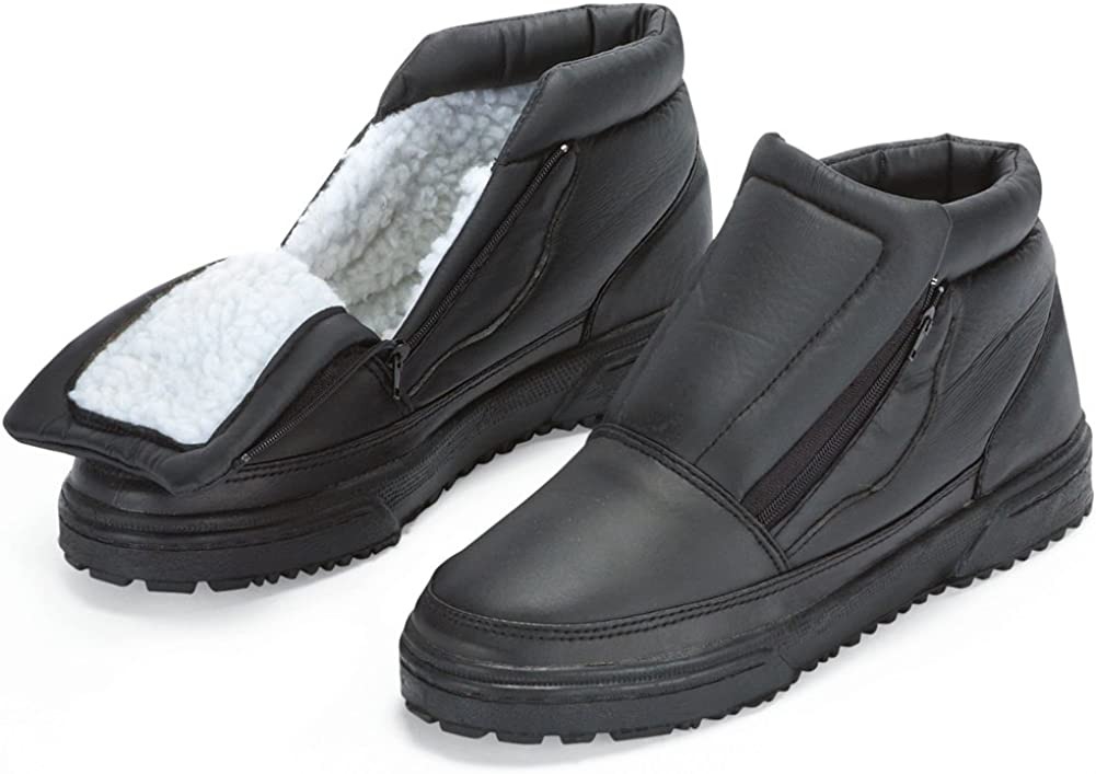 Water Resistant SEAL limited product Fleece Insulated Snow Flip-Out Finally resale start Boots Ice Gr with