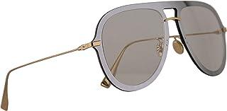 6507299eec Christian Dior DiorUltime1 Gafas De Sol Plateado Con Lentes Gris  Transparente 57mm VGVA9 Diorultime 1 Ultime1