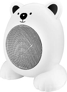 XYW-0007 Calefactor EléCtrica Calefactor Escritorio De Dibujos Animados, Silencio, EnergíA, Hogar, BañO, Oficina, 360w, Calentador, Blanco/Rosa