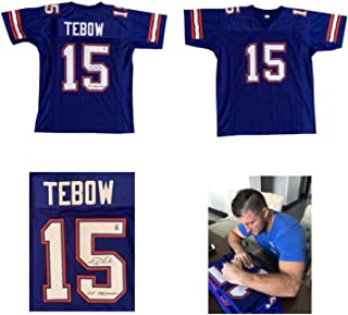 Best 2017 leaf autographed football jersey checklist Reviews