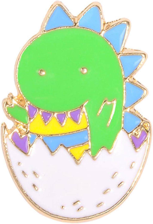 ink2055 Cartoon Small Dinosaur Tortoise Enamel Alloy Brooch Pin Lapel Denim Jacket Badge,Vintage Fashion Brooch Pins for Women Teen Girls Crafts Gift