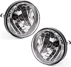 Fog Lights For GMC Sierra 1500 2007-2013 / Sierra 2500HD 3500HD 2007-2014 (OE Style Clear lens w/ 880 12V 37w Bulbs)