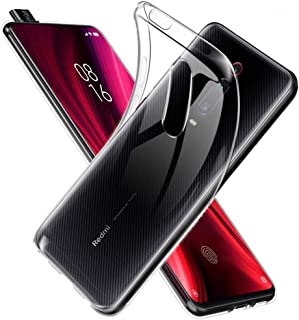 Toppix Xiaomi Redmi K20 Pro (MI 9T Pro) ケース, Xiaomi K20 (Mi 9T) ケース, ソフトTPU シリコーン 薄型 軽量 [Qi 充電 対応] [レンズ保護] [指紋と傷の防止] Redmi K20 Pro / K20 用カバー (クリア)