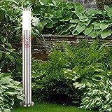 LED Außen Steh Leuchte Edelstahl Garten Hof Einfahrt Beleuchtung Stand Lampe Bewegungsmelder