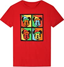 2LUV Anime Boy's Big Boys Mickey Mouse Movie Cotton T Shirt
