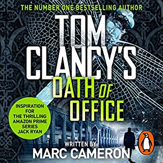 Tom Clancy's Oath of Office                   By:                                                                                                                                 Marc Cameron                               Narrated by:                                                                                                                                 Scott Brick                      Length: 14 hrs and 19 mins     117 ratings     Overall 4.5