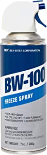 BW-100 Freeze Spray - Diagnostic Cooling Spray - Safe for Semiconductors, Capacitors, PCBs and More - Non-Flammable Constr...