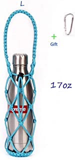 featured product koshine Water Bottle Carrier Weaving Net Cup Holder for Swell Mira Simple Modern Flask 17oz 25oz