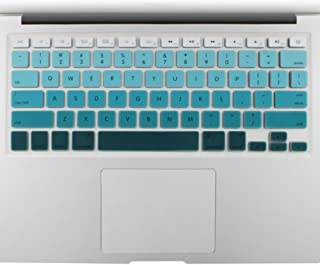 All-inside Green Ombre Color Keyboard Skin for MacBook Pro 13
