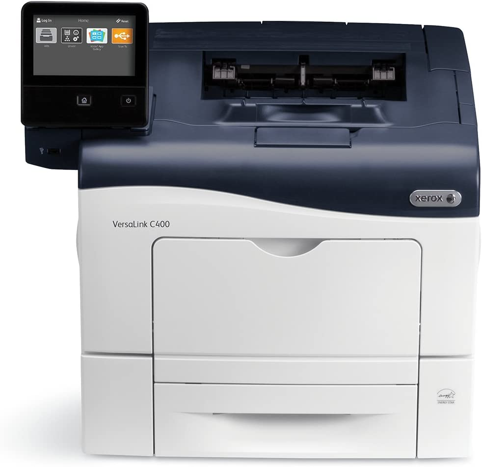 Xerox VersaLink C400/N Color Laser Printer, Letter/Legal, up to 36ppm, USB/ethernet, 550 Sheet Tray, 150 Sheet Multi Purpose Tray