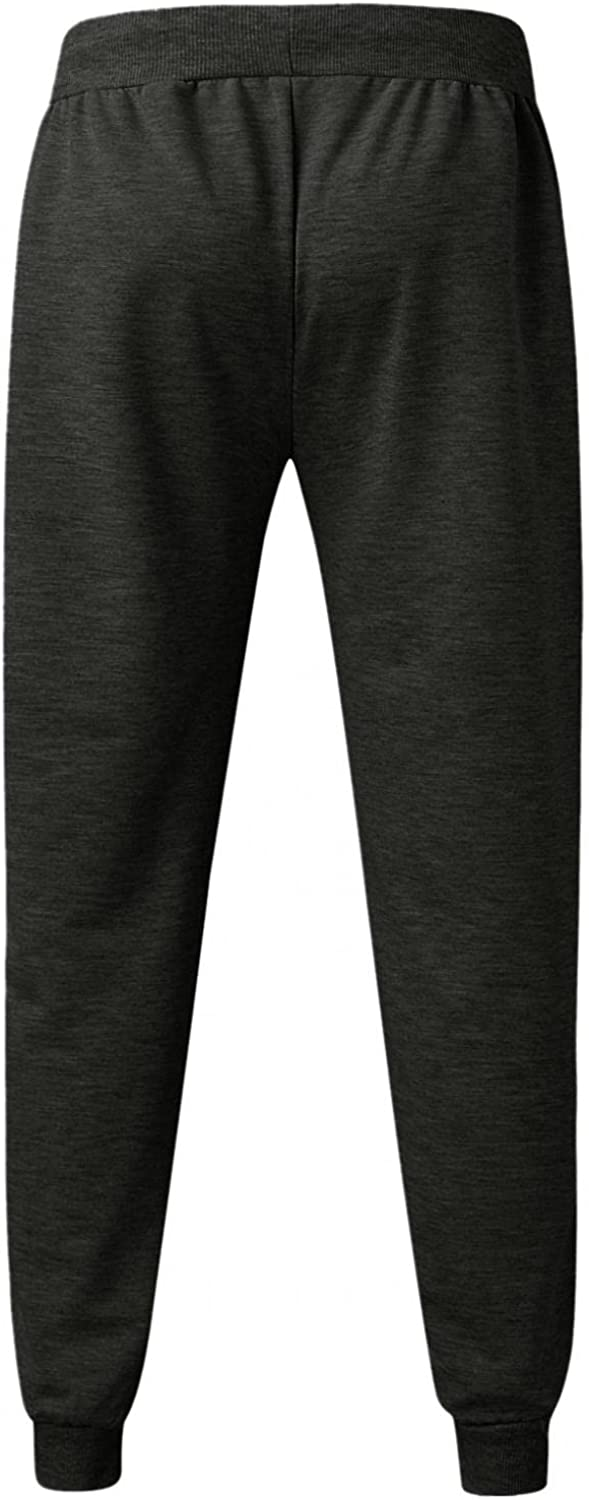 Beshion Mens Casual Joggers Sweatpants Athletic Running Workout Pants Tapered Slim Fit Lightweight Track Pants with Pocket