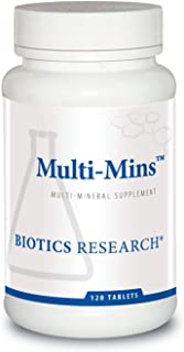 Sponsored Ad - Biotics Research Multi-Mins Iron & Copper Free -- 120 Tablets by Biotics Research