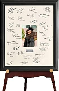 Creative Structures Personalized Gift - Celebrations Coach, Sports, Team Signature Guest Book Picture Photo/Photograph Frame - with Engraved Brushed Silver Plate