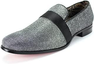 6660 Velvet Smoker Strap Smoking Slipper Loafer Slip on High Fashion Dress Shoe