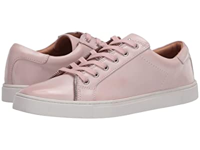 FRYE AND CO. Sindy Moto Low (Urban Pink Brush-Off Waxed Leather) Women