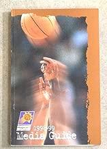 PHOENIX SUNS NBA BASKETBALL MEDIA GUIDE - 1998 1999 - NEAR MINT