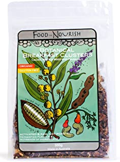 Food to Nourish Food to Nourish Organic Clusters Cacao Wattleseed 500 g