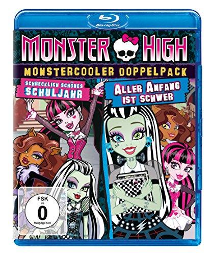 Monster High - Monstercooler Doppelpack: Schrecklich schönes Schuljahr & Aller Anfang ist schwer [Blu-ray]