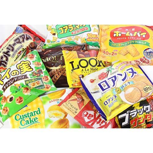 大袋お菓子詰め合わせセット(10種・計10コ)