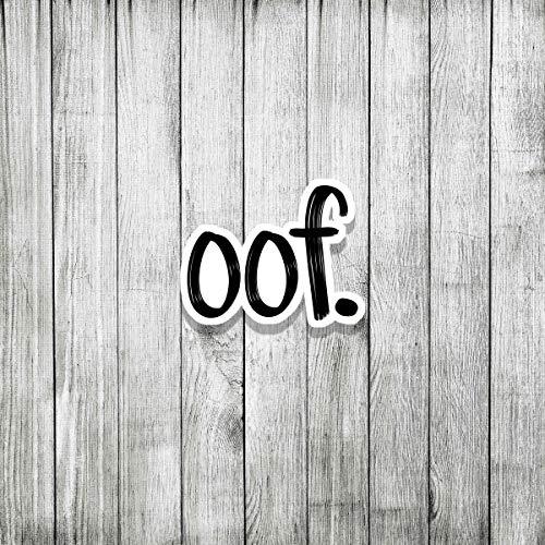 OOF. Sticker Cool Sticker (3 pcs/Pack,3x4 inch)