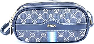 Saga Polyester Clutches Bag For Women - Blue