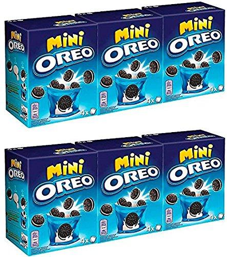 Oreo Mini Galletas 160 gr. - [Pack de 6]