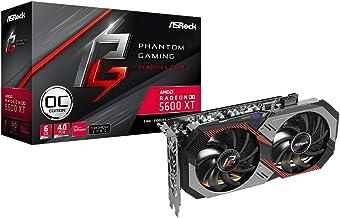 ASRock AMD Radeon RX5600XT Graphics Board GDDR6 6GB Phamtom Gaming Series RX 5600XT PG D2 6G OC