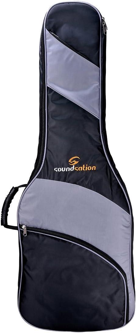 Soundsation pgb-10CG funda para guitarra clásica 4/4108x 42x 13,5cm, negro/gris
