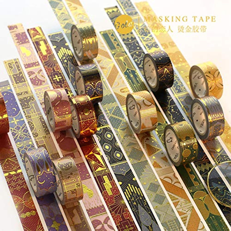 HAWSOIFHDUUUS Bronzing Paper Tape Tape Tape Eintausend und eine Nacht Mythologie Kreative Handsträne Keine Spur Diy Material Dekoration Geburtstagsgeschenk-Set, ein Satz von 10 Volumen B07MC7L383     | Jeder beschriebene Artikel ist verfügbar  8a3e77