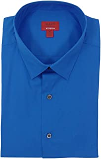 Alfani Mens Spectrum Poplin Long Sleeves Dress Shirt