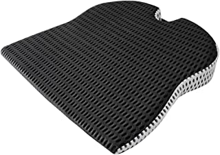 Iycorish Car Wedge Seat Cushion for Car Driver Seat Office Chair Wheelchairs Memory Foam Seat Cushion-Orthopedic Support a...