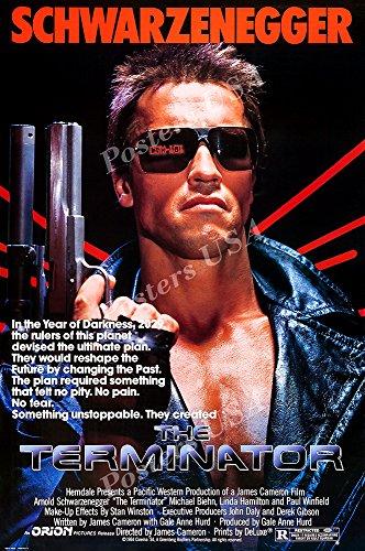 Posters USA - Terminator Original Movie Poster GLOSSY FINISH - MOV084 (16' x 24' (41cm x 61cm))
