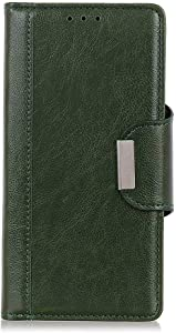 DENDICO Huawei Mate Pro Case  Slim Flip Wallet Magnetic Shockproof Leather Case for Huawei Mate Pro  Stand Case with Card Holder Green