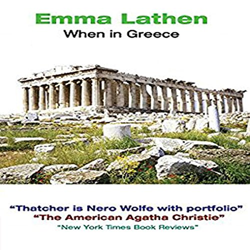 When in Greece audiobook cover art