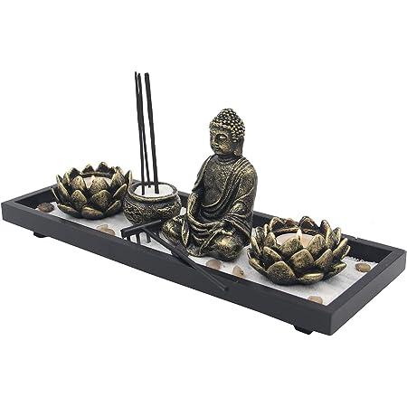 Black and Red Room Decor Incense Stick Holder Gifts for Meditators Meditation Tools Fused Glass