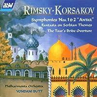Symphonies 1 & 2 by Rimsky-Korsakov
