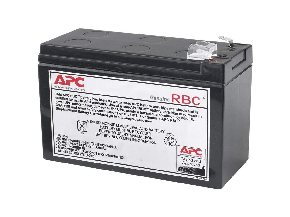 [EQHS_1162]  Amazon.com: APC UPS Battery Replacement for APC UPS Model BE550G, BN600MC,  BR550GI, BX650CI, BX700UI, BX800LI, BX3650CI, SX3800CI and select others  (RBC110): Home Audio & Theater | Apc Rbc32 Battery Wiring Diagram |  | Amazon.com