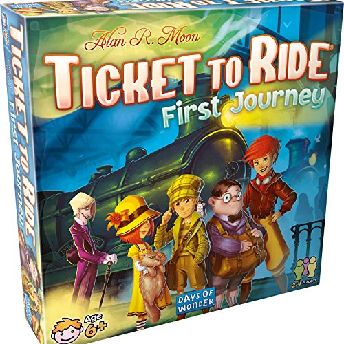 Ticket to Ride First Journey Board Game DO7225 for 15.74