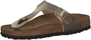 Birkenstock Gizeh, Women's Fashion Sandals, Gold (Bf Gold), 40 EU