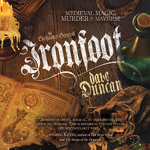 Ironfoot audiobook cover art