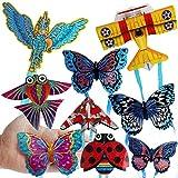 Cometa para Niños Adultos, Insecto Mariposa Avión Deportes Al Aire Libre Mini Cometa Niños Juguete Volador Interactivo Color de Estilo Aleatorio Insecto*None