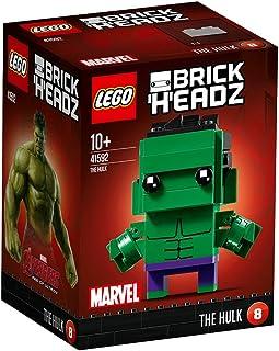 LEGO Brickheadz - The Hulk, Juguete de Construcción
