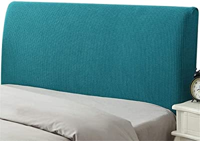Headboard Cover Stretch Bed Headboard Slipcover Headboard Covers for Single/King/Double Dustproof Cover for beds Wood Stretch 120/180CM Furniture Protective Protective Case. Backrest Cover