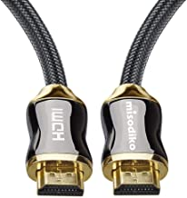misodiko Premium High Speed HDMI 2.0 Cable for New 4k Ultra HD Televisions - Professional Series (2 Meters)